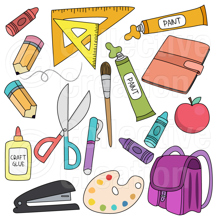 Free Digital Clip Art Popular Items For School