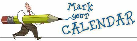 Image result for mark your calendar